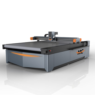 CNC Round Knife Cutting Machine for Fabric, Cloth, Shoe, Sofa, Car Seat