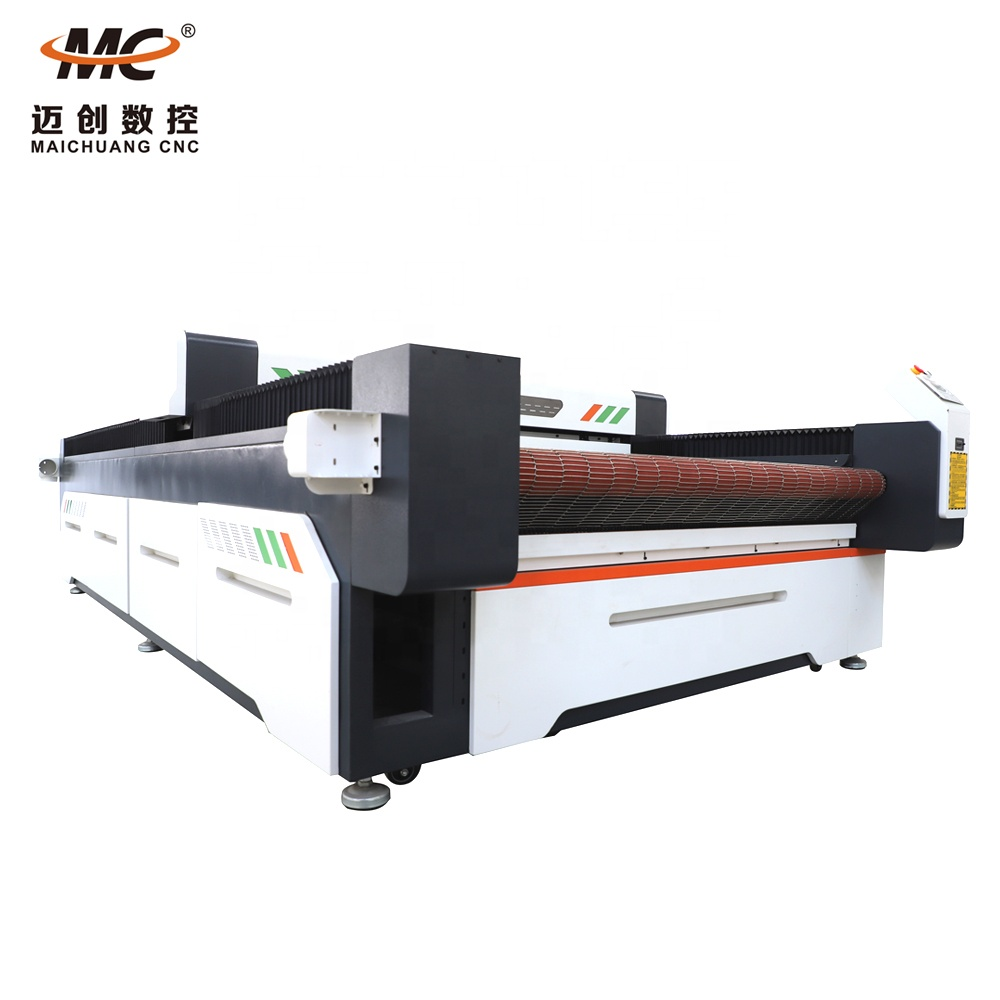 High Speed 1630 CNC Auto Feeding Cloth Laser Cutting Machine